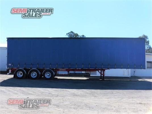 2002 Barker Curtainsider Trailer Semi Trailer Sales  - Trailers for Sale