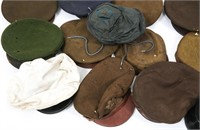 WWI & WWII US ARMY DRESS AND SERVICE HAT LARGE LOT