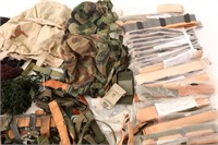 US ARMY MIXED LOT OF US M1 & PASGT HELMET PARTS