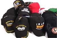 ARMY - NAVY SURPLUS VETERAN BALL CAP MIXED LOT
