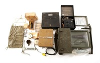 WWII AIRCRAFT MECHANICAL PARTS AND TOOL LOT
