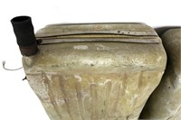 WWII AAF AIRPLANE LEFT & RIGHT FUEL TANK LOT