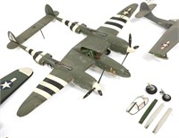 WWII US AIRCRAFT MODEL MIXED LOT OF 5