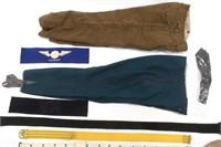 WORLD MILITARY UNIFORM PANTS & GEAR MIXED LOT