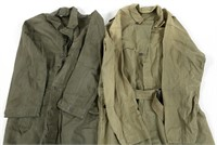 WWII US ARMY & USMC HBT COVERALL LOT