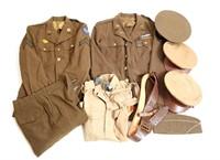 WWII US ARMY NCO DRESS UNIFORM LOT