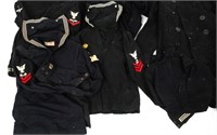 WWII US NAVY ENLISTED JUMP BLUE UNIFORM LOT