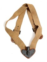 WWI - WWII US ARMY LEATHER LEGGING & HOLSTER LOT