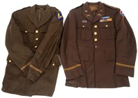 WWII US ARMY OFFICER DRESS UNIFORM LOT