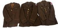 WWII US ARMY OFFICER DRESS UNIFORM LOT