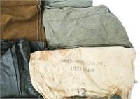 WWII US ARMY - NAVY RAIN GEAR UNIFORM LOT