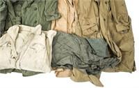 WWII US ARMY US NAVY RAIN GEAR UNIFORM LOT