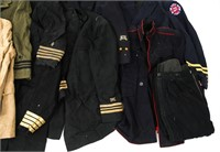 WWII - KOREA US ARMED FORCES MILITARY UNIFORM LOT