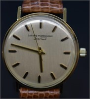 Girard Perregaux Seahawk 10k Gold Filled Watch