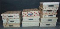 (11) Boxed Nancy Ann Storybook Dolls, All Bisque
