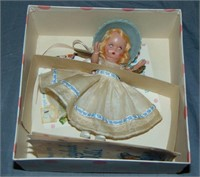 (5) Boxed Nancy Ann Story Book Dolls, Plastic
