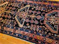"""Persian Carpet Runner 189"""" x 41"""""""