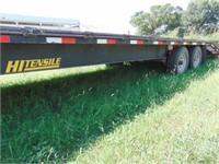 Diamond T 2013 24' gooseneck dovetail trailer