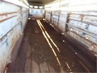 30ft. Titan Gooseneck stock trailer,