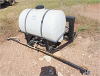 3pt. 55 gal. sprayer electric pump, with 7ft. boom