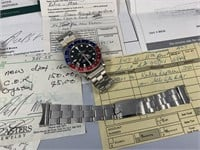 1966 Rolex GMT-Master 1675 Pepsi Stainless Steel