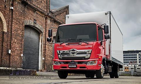 Hino 500 Series GT1322 Manual Crew Cab MWB