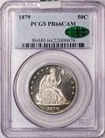 50C 1879 PCGS PR66 CAM CAC