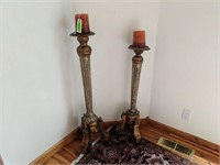 "37"" and 42"" Floor Length Candlesticks"
