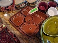 Collection of Stoneware, Bowls, Serving Dishes