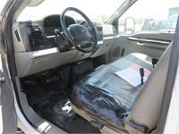 (DMV) 2007 Ford F-550 XL Service Truck w/ Crane