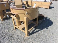 """42"""" Grossi Walnut Huller with Brush"""