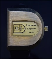 4 pcs Lucerne, Caravelle, Eterna & Clinton Watches