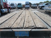 (DMV) TRLR Tandem 8' x 20' Tilt Bed Equipment Trai