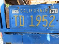 "(DMV) 1983 Custom 64"" x 8' Livestock Trailer"