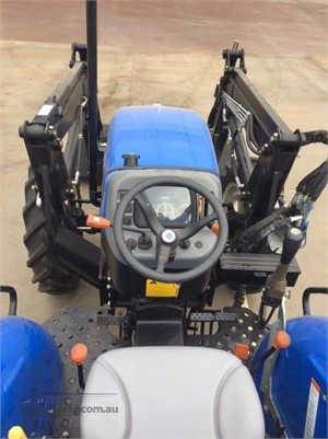2012 New Holland WorkMaster 55 4WD Black Truck Sales - Farm Machinery for Sale