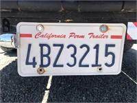 """(DMV) 1993 Custom Tandem Axle Trailer 82"""" x 20'"""