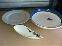 Three Serving Dishes