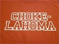 u-Tees: Choke-Lahoma (XL)