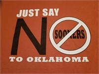 u-Tees: Just Say NO to Oklahoma (L)