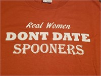 u-Tees: Real Women Don't Date Spooners (M)