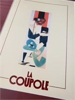 Framed Print; La Coupole