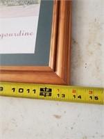 Framed Print; La Perigourdine