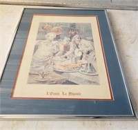 Framed Print; L'Oasis La Napoule