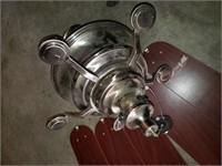Ceiling Fan; Silver