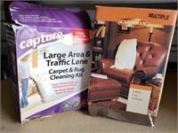 Leather Care Kit & Carpet Cleaning Kit