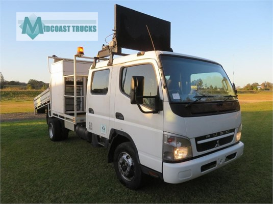 2010 Fuso Canter FE85D Crew Cab Midcoast Trucks - Trucks for Sale