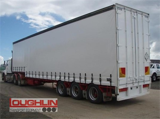 2004 Vawdrey Curtainsider Trailer Loughlin Bros Transport Equipment - Trailers for Sale