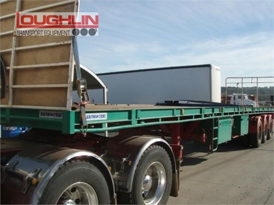 2008 Southern Cross Flat Top Trailer Loughlin Bros Transport Equipment - Trailers for Sale
