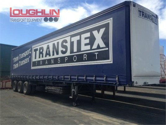 1996 Maxitrans Curtainsider Trailer Loughlin Bros Transport Equipment - Trailers for Sale