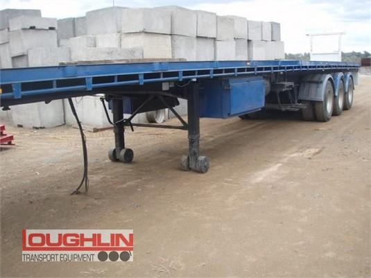 1999 Haulmark Flat Top Trailer Loughlin Bros Transport Equipment - Trailers for Sale